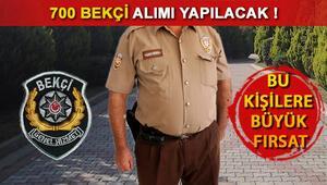 İstanbulda 700 bekçi alınacak 2017 bekçi alımları