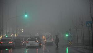 Çorlu'da sis nedeniyle eğitim uçuşları iptal edildi