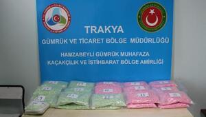 Türkiyeye 100 bin uyuşturucu hap sokmak isterken yakalandı