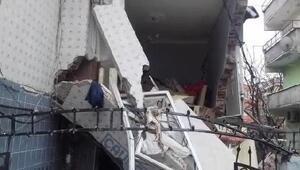 Fotoğraflar // Küçükçekmecede doğalgaz patlaması: 1i ağır 7 yaralı