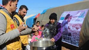 Halepe bir tas çorba kampanyası