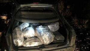 Suruç'ta 86 kilo esrara 3 gözaltı