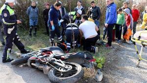 Zonguldakta iki kazada 2 kişi yaralandı