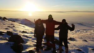 Süphan Dağı'na kış tırmanışı