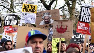 30'dan fazla şehirde 'Gelmesin' protestosu