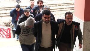 PKK propagandası yaptıkları iddia edilen 6 kişi adliyede