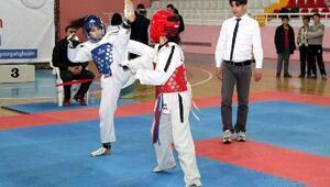 Yozgat'ta lise ve orta okul teakwondo il müsabakaları yapıldı
