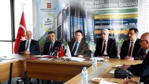 AGÜ ile liseler arasında işbirliği anlaşması imzalandı