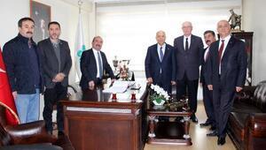 İç Anadolu Belediyeler Birliğinden Mengen Belediyesine ziyaret