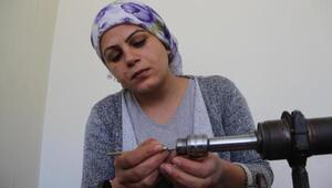 Diyarbakırdan Fransa ve Dubaiye tesbih gönderen kadın