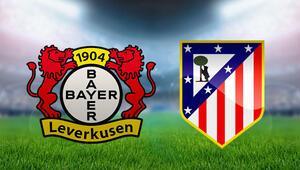 Bayer Leverkusen Atletico Madrid maçı saat kaçta, hangi kanalda