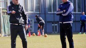 Kardemir Karabükspor, Barisic ile ilk antrenmana çıktı