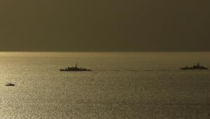 Türk ve Yunan savaş gemileri Kardakta karşı karşıya geldi