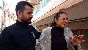 Bursa'da minik Hiranın öldüğü kaza yerinde ağlatan keşif