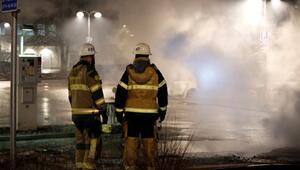 Trumpın sözünden iki gün sonra İsveçte göçmen banliyösünde isyan çıktı