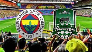 Fenerbahçe Krasnodar maçı ne zaman saat kaçta hangi kanalda