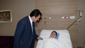 Trafik kazası geçiren çocuğun tedavisini üstlendi