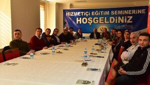 Altınordu Belediyesi'nde hizmet içi eğitim semineri düzenlendi