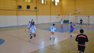 Malkara futsal il birinciliği eleme maçları yapıldı