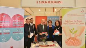 Kitap Fuarında akılcı antibiyotik kullanımı standı açıldı