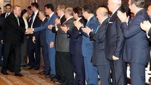Cumhurbaşkanı Erdoğan : Yeni yönetim sisteminin temel mantığı, güven ve istikrardır (2) (Yeniden)