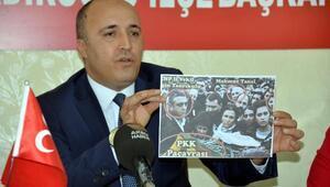 MHPli başkandan CHPye fotoğraflı tepki