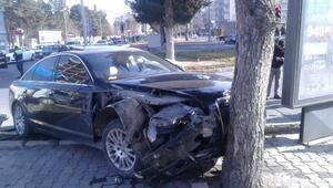 Adıyamanda kaza: 1 yaralı