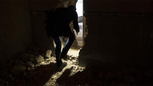 DEAŞın tünellerine girildi İşte o görüntüler...
