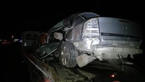 Malatyada otomobil işçi servisiyle çarpıştı: 2 ölü 5 yaralı
