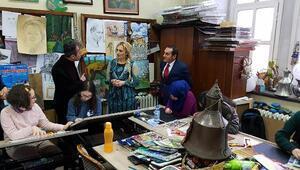 Şengül Yavuz, Bilim ve Sanat Merkezini ziyaret etti