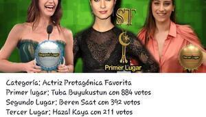 Tuba Büyüküstün, Şilide en iyi Türk kadın oyuncu
