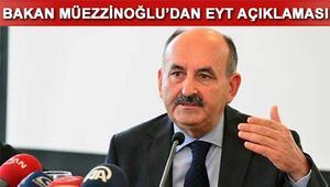 Emeklilikte yaşa takılanlara Bakan Müezzinoğlundan son açıklama