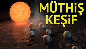 NASAdan müthiş keşif: Yedi Dünya benzeri gezegen | exoplanet discovery