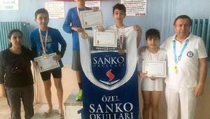 Sanko öğrencilerinin Pentatlon başarısı