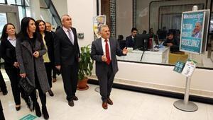 Anadolu Lisesi yönetiminden, Büyükkılıça ziyaret