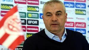Antalyaspor Teknik Direktörü Çalımbay: Bizi herkes konuşabilir, övebilir