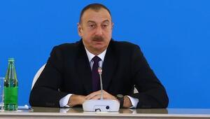 Azerbaycan Cumhurbaşkanı Aliyevden Türkiye mesajı