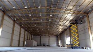 Makine ikmal binası inşaatı tamamlandı