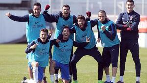 Trabzonspor, Atiker Konyaspor maçı hazırlıklarını sürdürdü