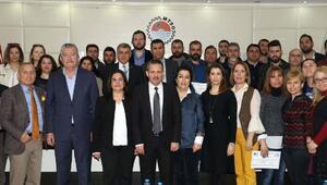 Mersin'de 115 girişimciye sertifika