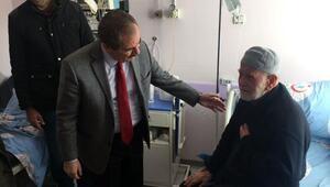 Başkan Gürsoy, hasta ve yaşlıları ziyaret etti