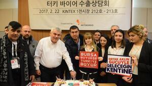 BTSO'dan Seul'de 100'üncü iş gezisi kutlaması