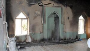 Serikte camide yangın