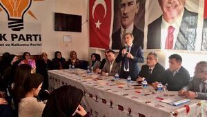 AK Partili Tin: Anadoluya uzanan elleri kıracağız