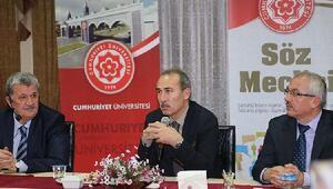 CÜ Rektörü Yıldız, Söz Meclisi programının konuğu oldu