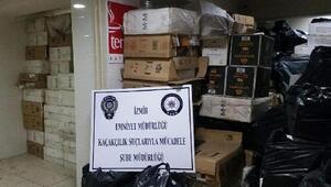 Polisten gümrük kaçağı sigara operasyonu