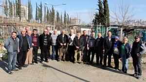 Hobi Bahçesi sakinlerinden belediyeye tepki