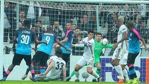 Beşiktaş son 16 turunda İşte Beşiktaş maçın özeti ve golleri