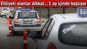 Ehliyeti olanlar dikkat... Trafikte saygı eğitimi başlıyor