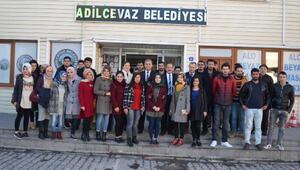 Başkan Gürsoy üniversite öğrencileriyle bir araya geldi